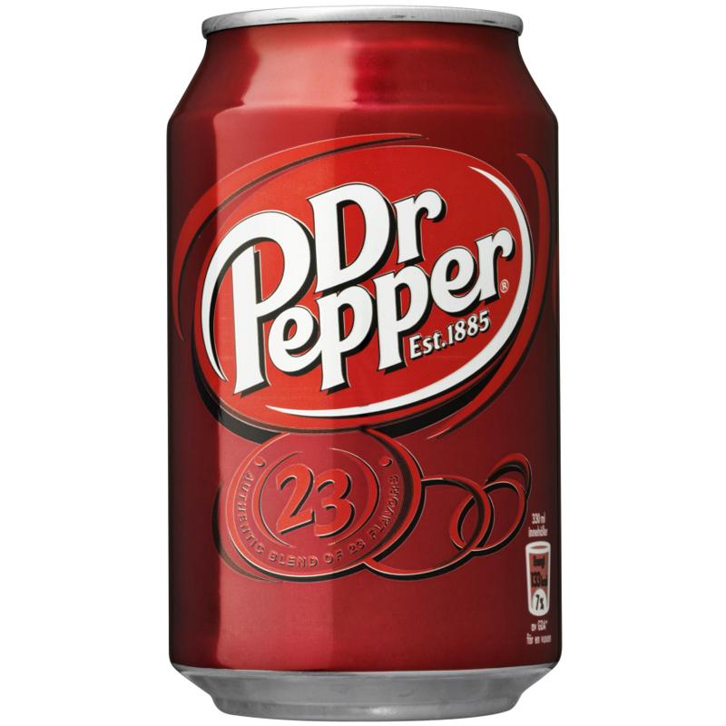 """Läsk """"Dr Pepper"""" 330ml - 40% rabatt"""
