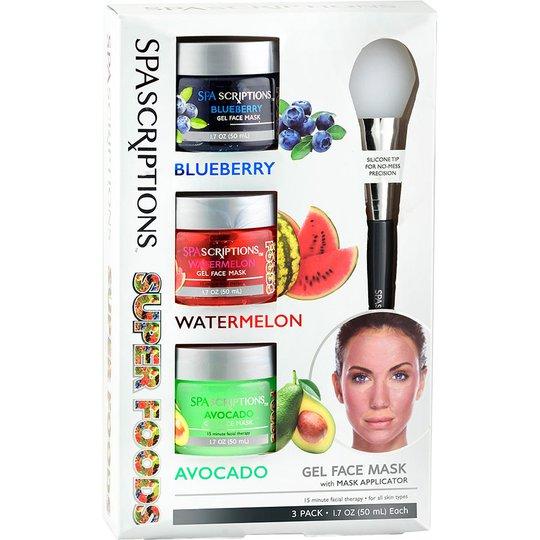 Superfoods Masks Blueberry Watermelon Avocado, 50 ml Spascriptions Kasvonaamiot