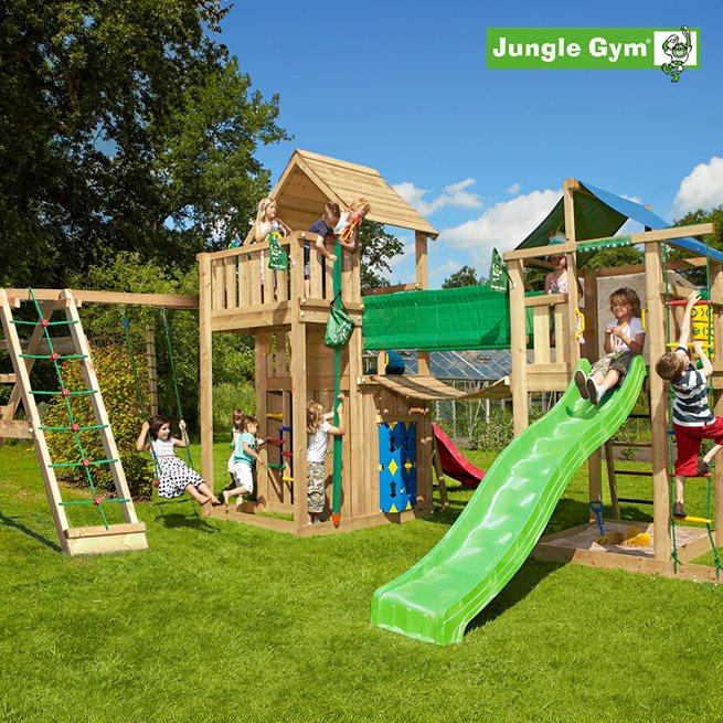 Jungle Gym Lekuniversum 2 komplett, Klätterställning