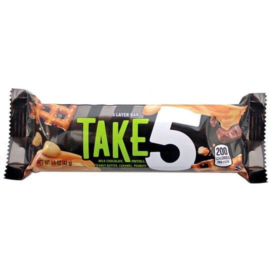 "Godisbar ""Take 5"" 42g - 64% rabatt"