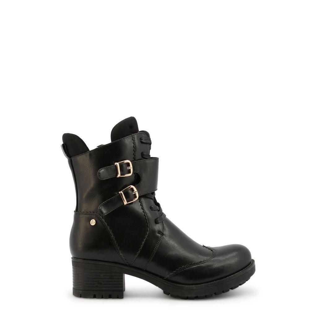 Roccobarocco Women's Ankle Boot Black RBSC1K202STD - black EU 37