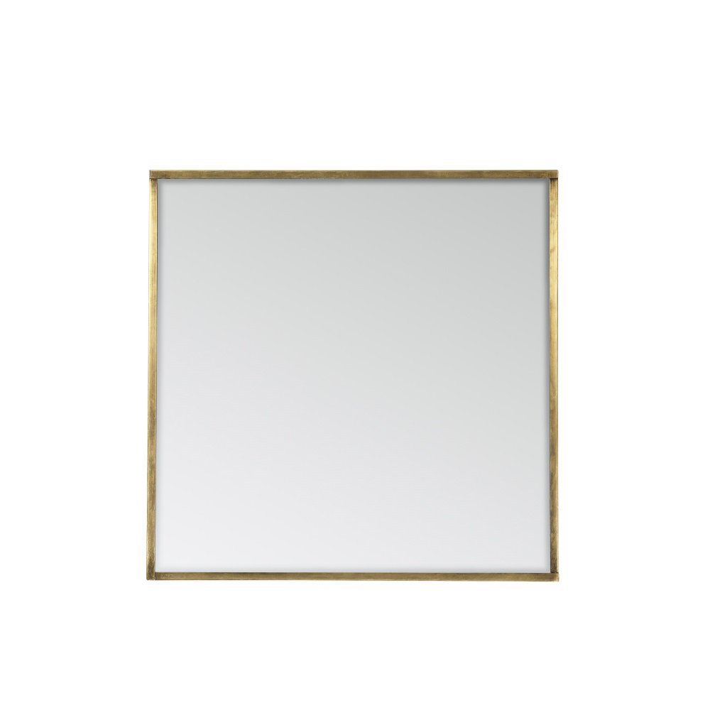 Spegel SASA 38 x 38 cm mässing, Broste Copenhagen
