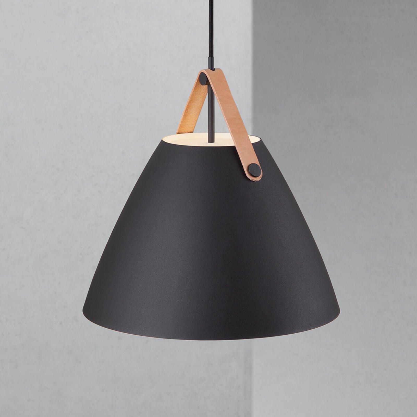 LED pendellampe Strap med læroppheng