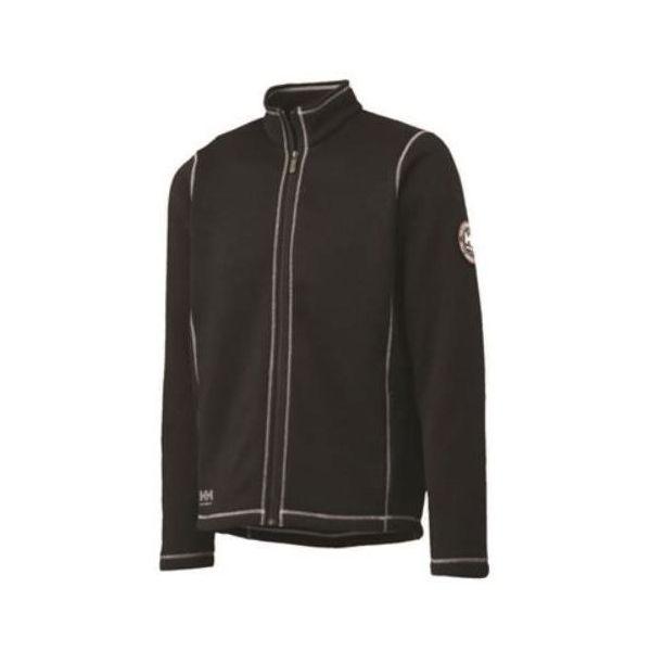 Helly Hansen Workwear Hay River Fleecejacka svart/vit Strl XXS