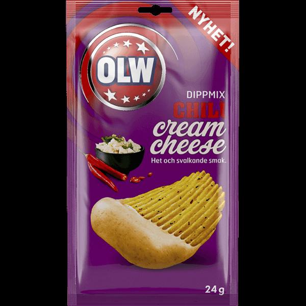 OLW Dipmix Chili Cream Cheese 24g