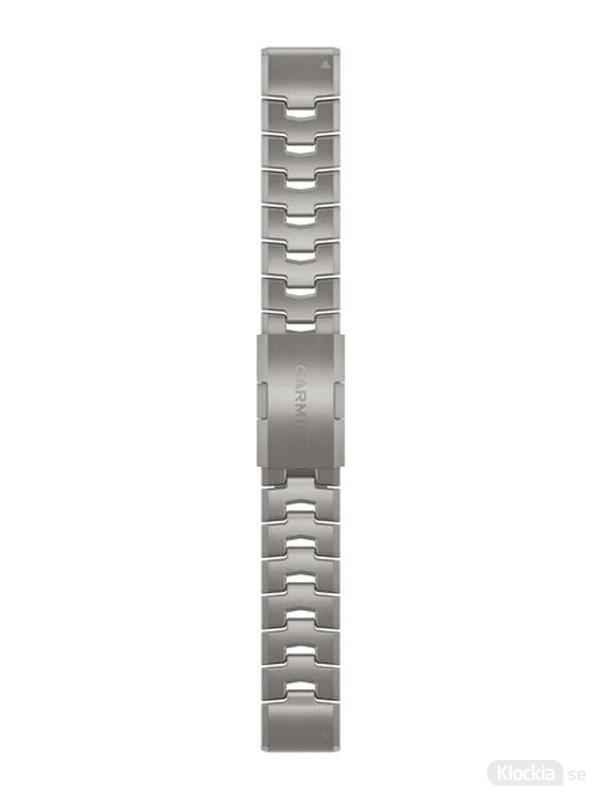 Garmin QuickFit 22mm - Klockarmband, Ventilerande Titanarmband