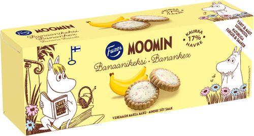 Moomin Kex Banan 125g