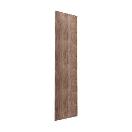 Gavlside Atlanta garderobe 236 cm, Mørk rustikk eik