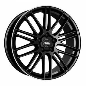 Rial Kibo Black Polished 8x18 5/114.3 ET38 B70.1