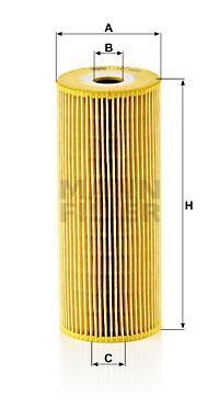 Öljynsuodatin MANN-FILTER HU 947/1 x