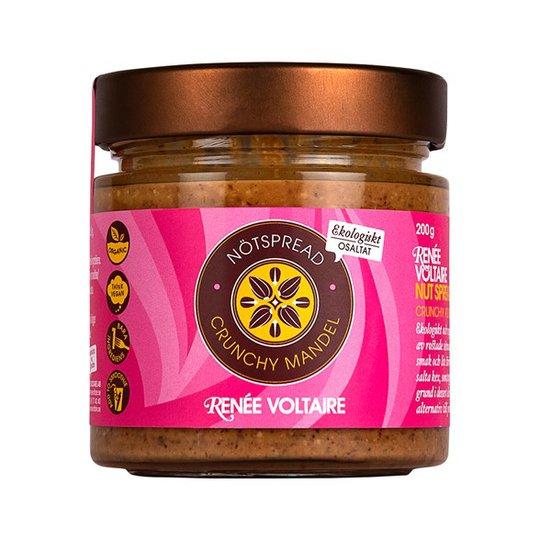 Renee Voltaire Nötspread Crunchy Mandel, 200 g