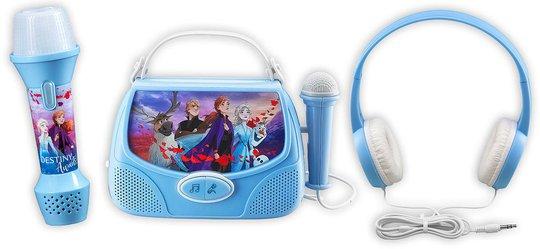 Disney Frozen 2 Sett med Karaokemaskin, Hodetelefoner og MP3