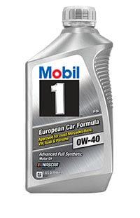 Moottoriöljy MOBIL 0W40 MOBIL 1 FS 1L