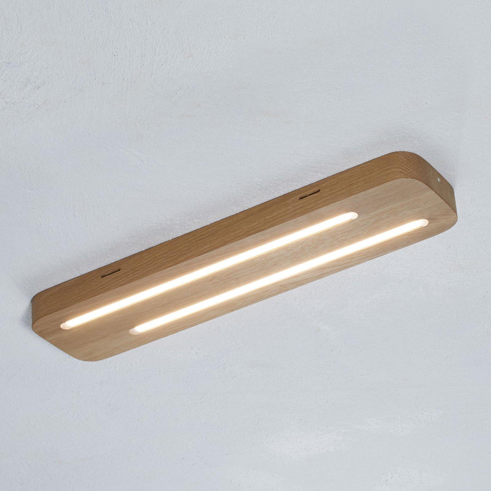 Neele – LED-taklampe i eik