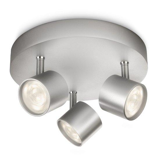 Pyöreä LED-kattovalaisin Star – 3-os., käännettävä
