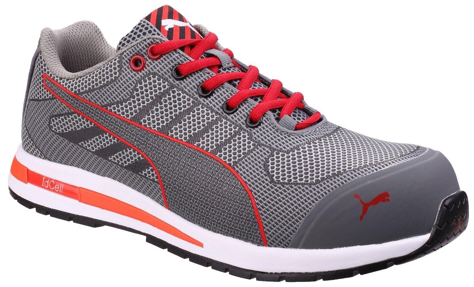 Puma Safety Unisex Xelerate Knit Low Trainer Grey 25459 - Grey 6