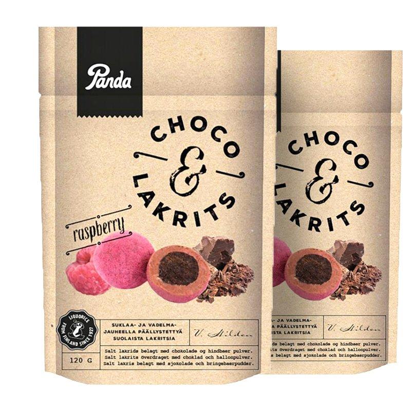 Chokladlakrits Raspberry 2-pack - 43% rabatt