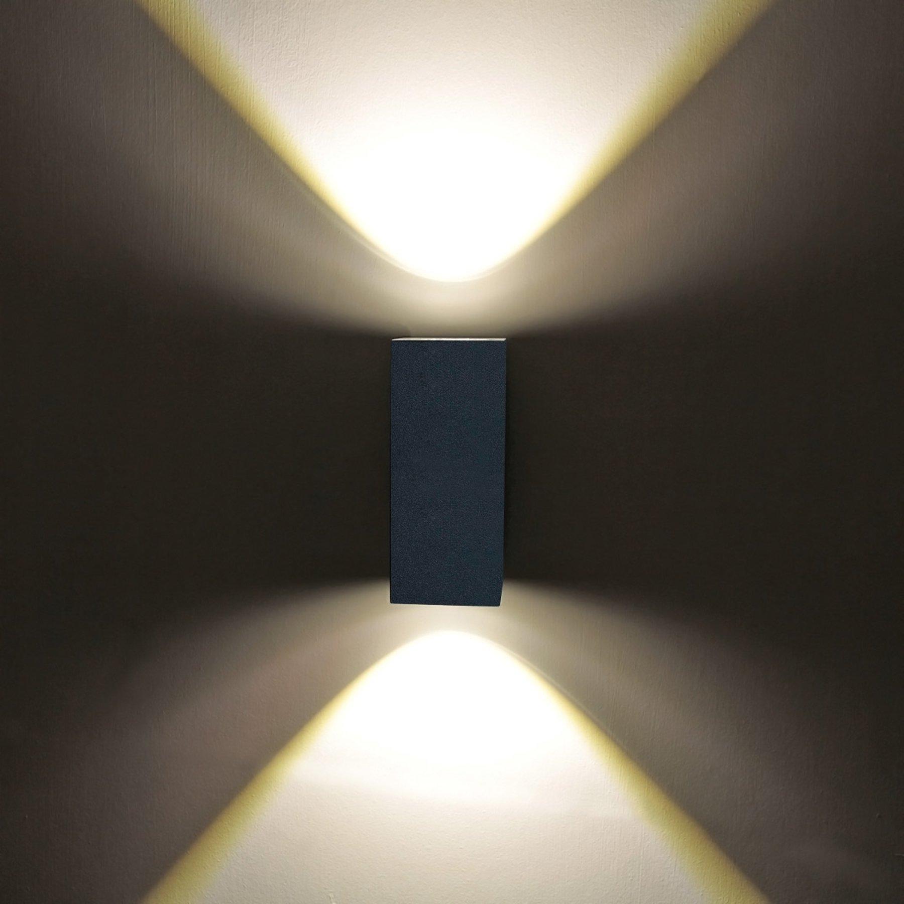 Tavi - utevegglampe m. 2 Bridgelux LED
