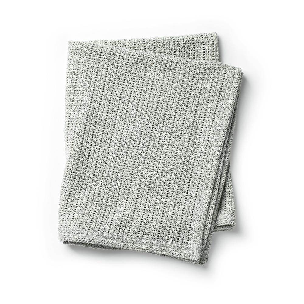 Cellular Blanket - Mineral Green