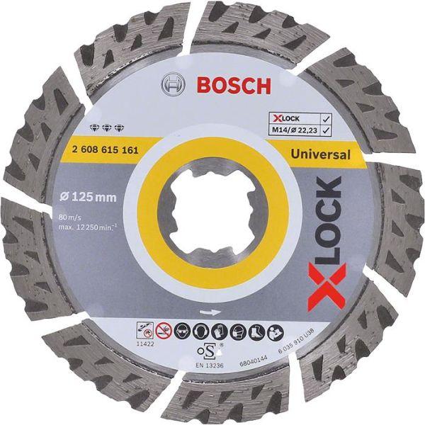 Bosch Best for Universal Diamantkappskive X-LOCK 115 × 22,23 × 2,2 × 12 mm