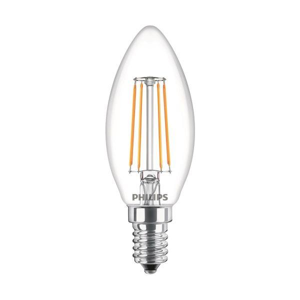 Philips Classic LED Filament LED-lampe 4,3 W, kronelysform