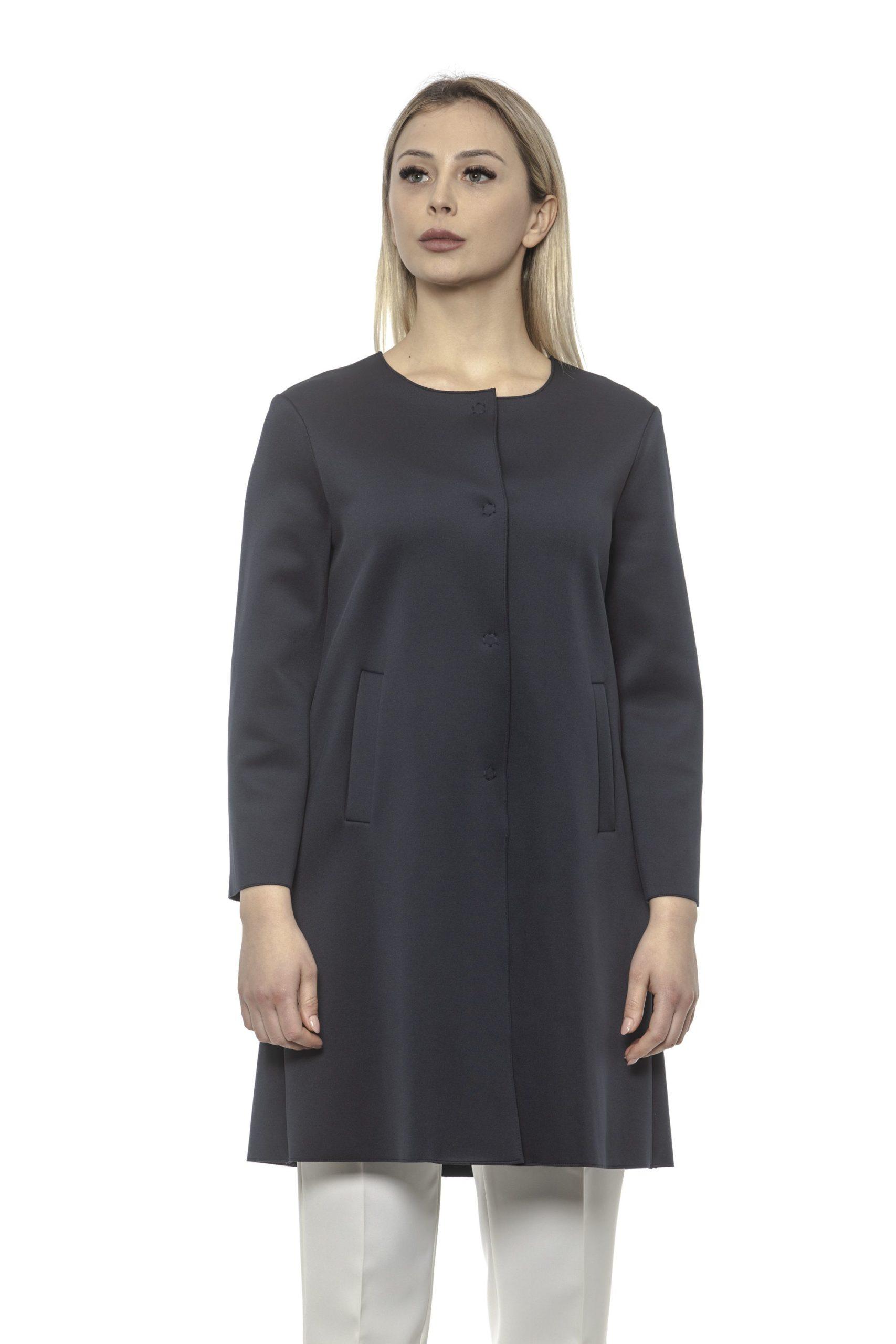 Alpha Studio Women's Coat Blue AL1374877 - IT40 | XS
