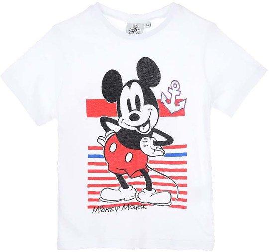 Disney Mikke Mus T-shirt, White, 4 År