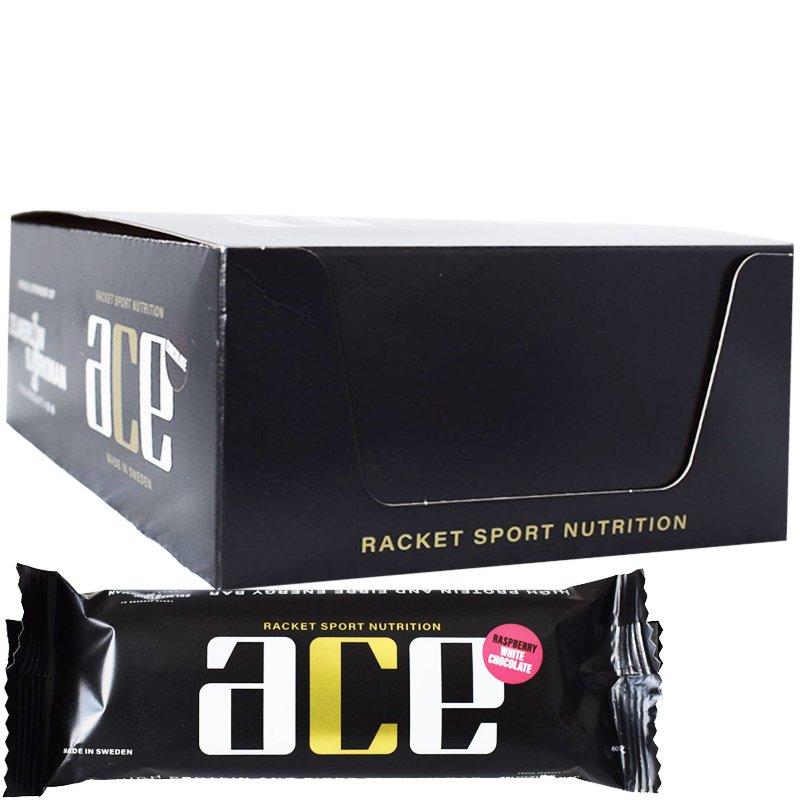 """Hel Låda Proteinbars """"Raspberry & White Chocolate"""" 20 x 60g - 63% rabatt"""