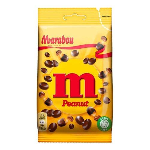 Marabou M Peanut - 90 gram