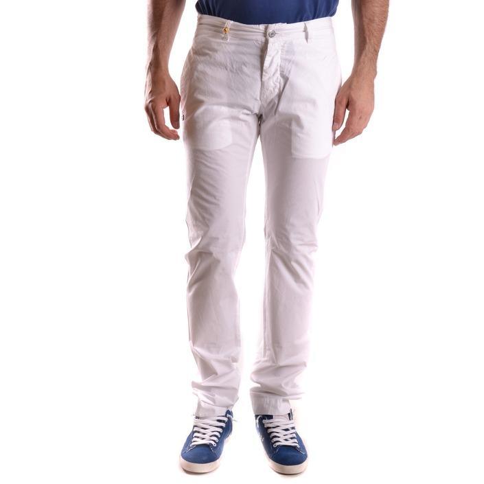 Daniele Alessandrini Men's Trouser White 186828 - white 31