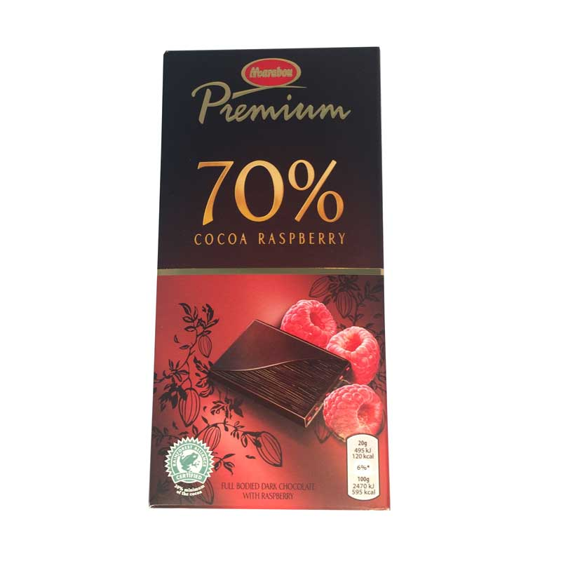 Marabou premium raspberry - 50% rabatt