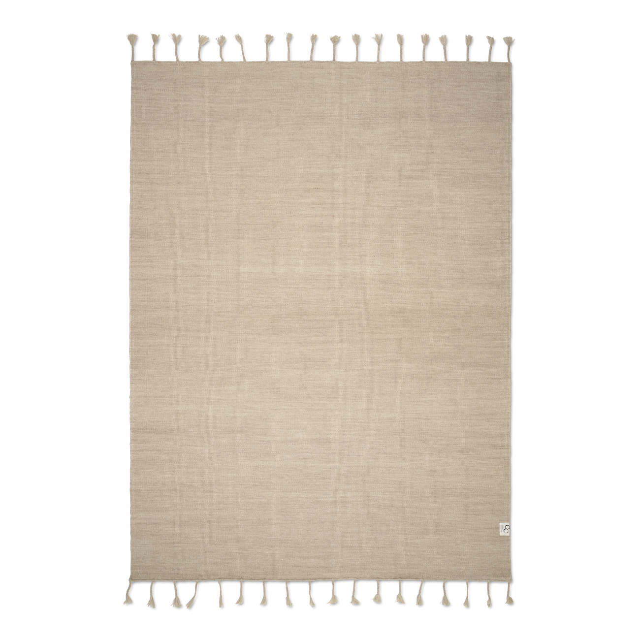 Ullmatta PLAIN SAND 200x300, Classic Collection