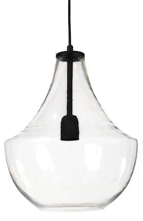 Hamilton Taklampe Clear/black 30 cm