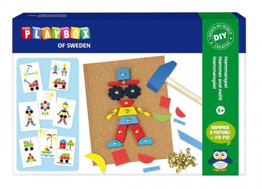Playbox Hobbysett Hammermosaikk