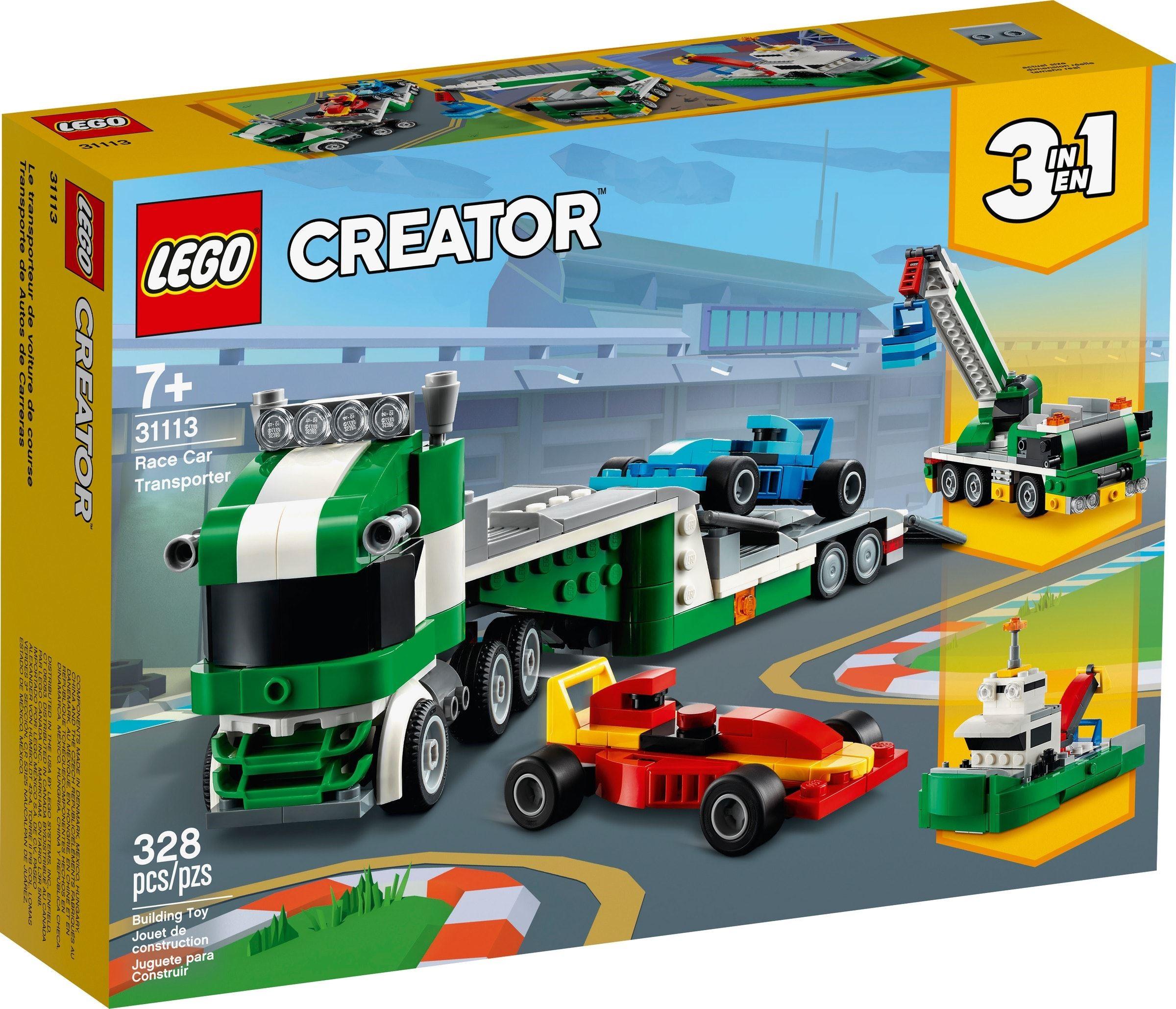 LEGO Creator - Race Car Transporter (31113)