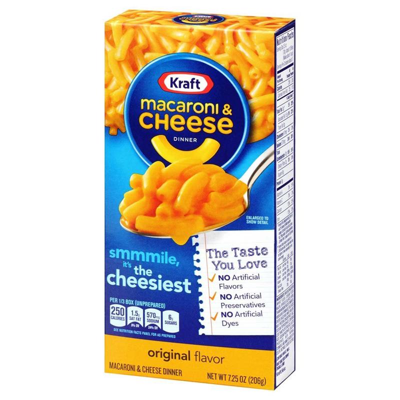 """Middagskit """"Macaroni & Cheese Dinner"""" 206g - 40% rabatt"""