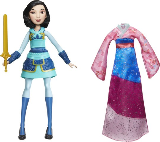 Disney Princess Adventure Doll Mulan