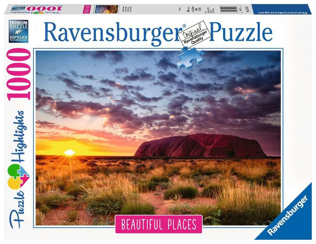Ravensburger - Puzzle 1000 - Ayers Rock, Australia (10215155)