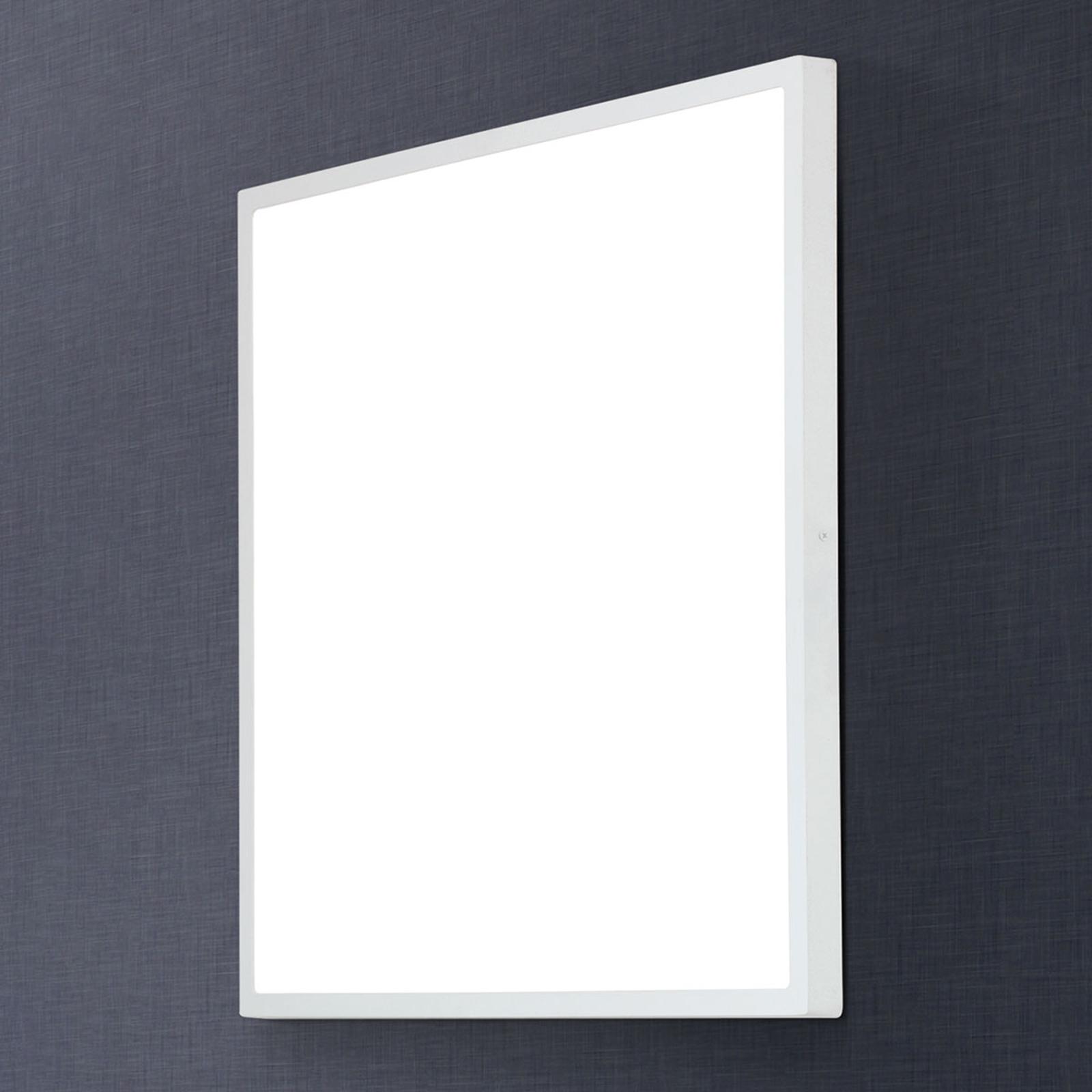 Kulmikas LED-seinävalaisin Lero 60 x 60 cm