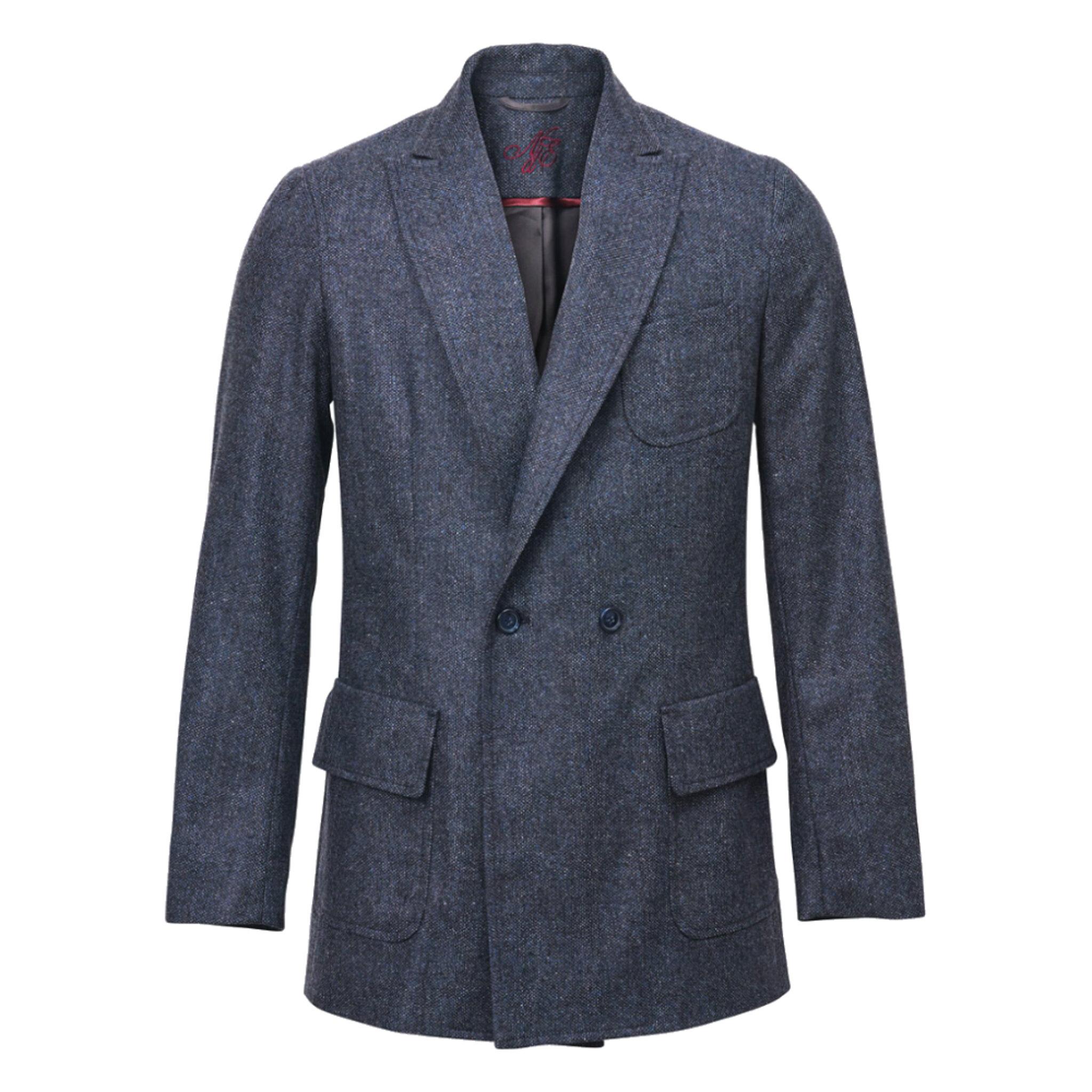 Ledgendary Double Breasted Wool Blazer