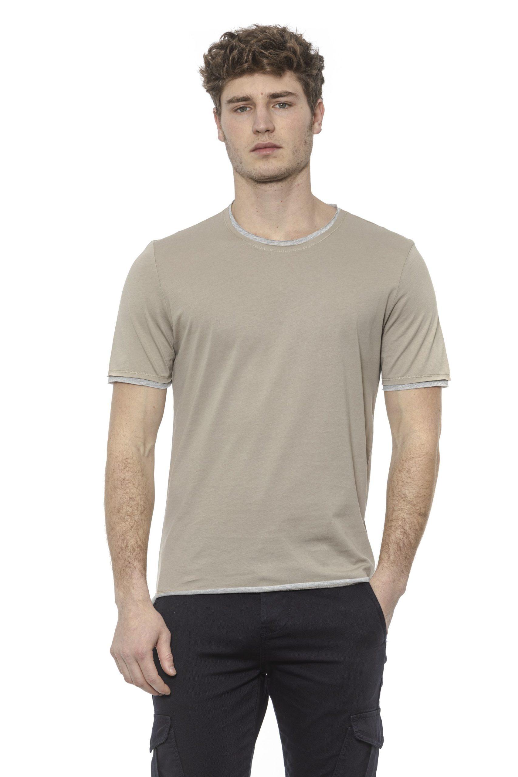 Alpha Studio Men's Corda T-Shirt Beige AL1374461 - IT48 | M