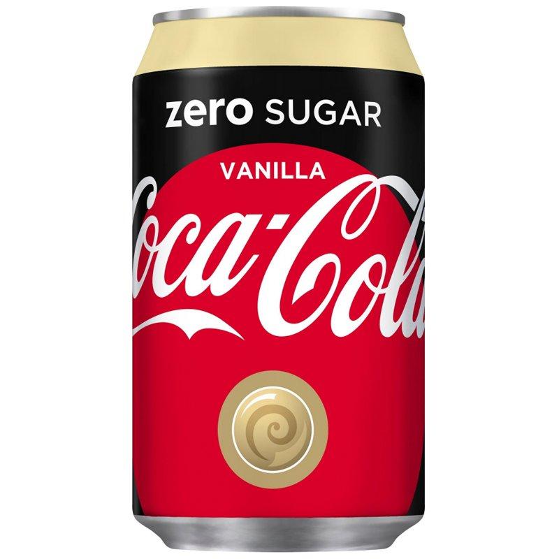 Coca-Cola Vanilla Zero 33cl - 42% alennus