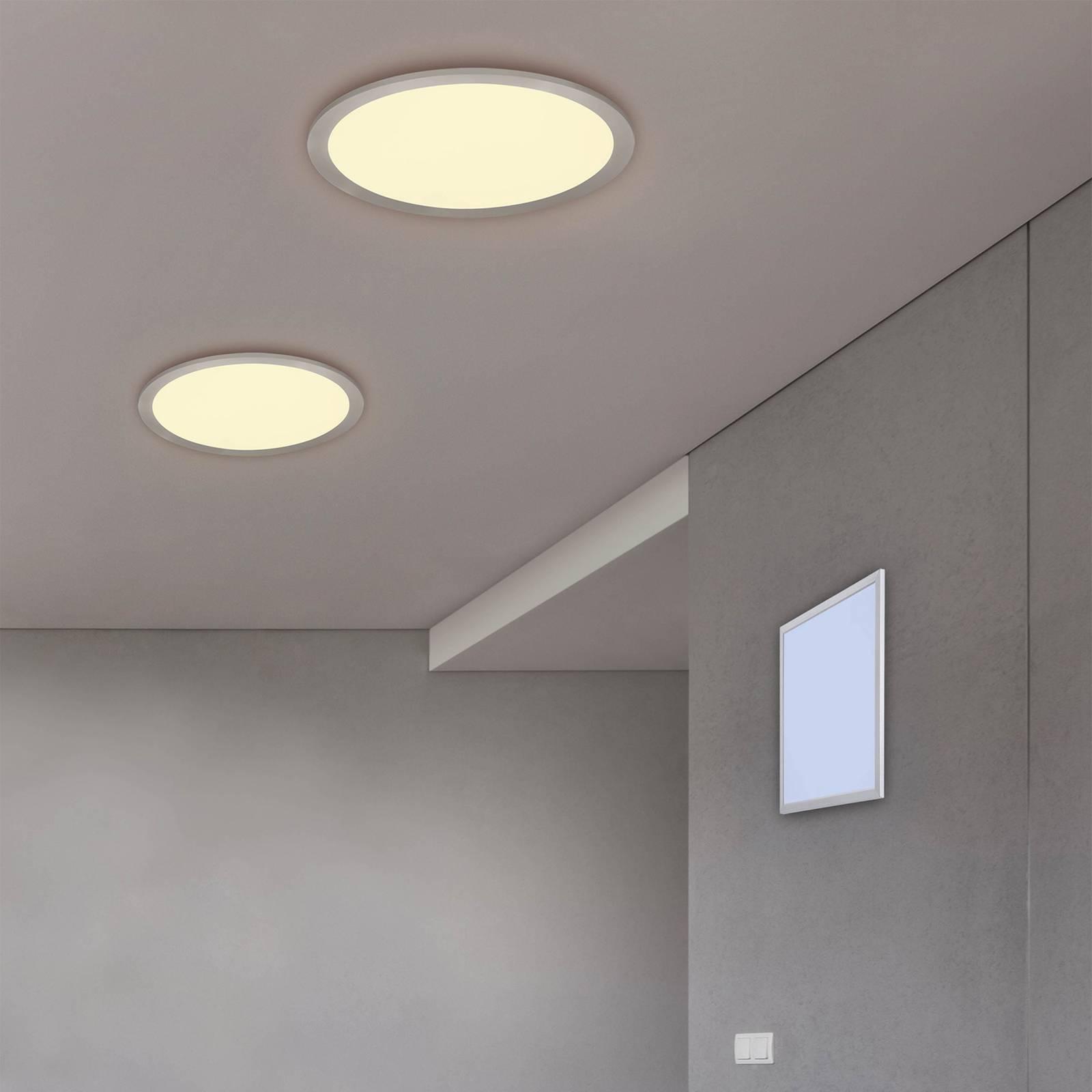 LED-kattovalaisin Alima, CCT, WiZ, Ø 30 cm