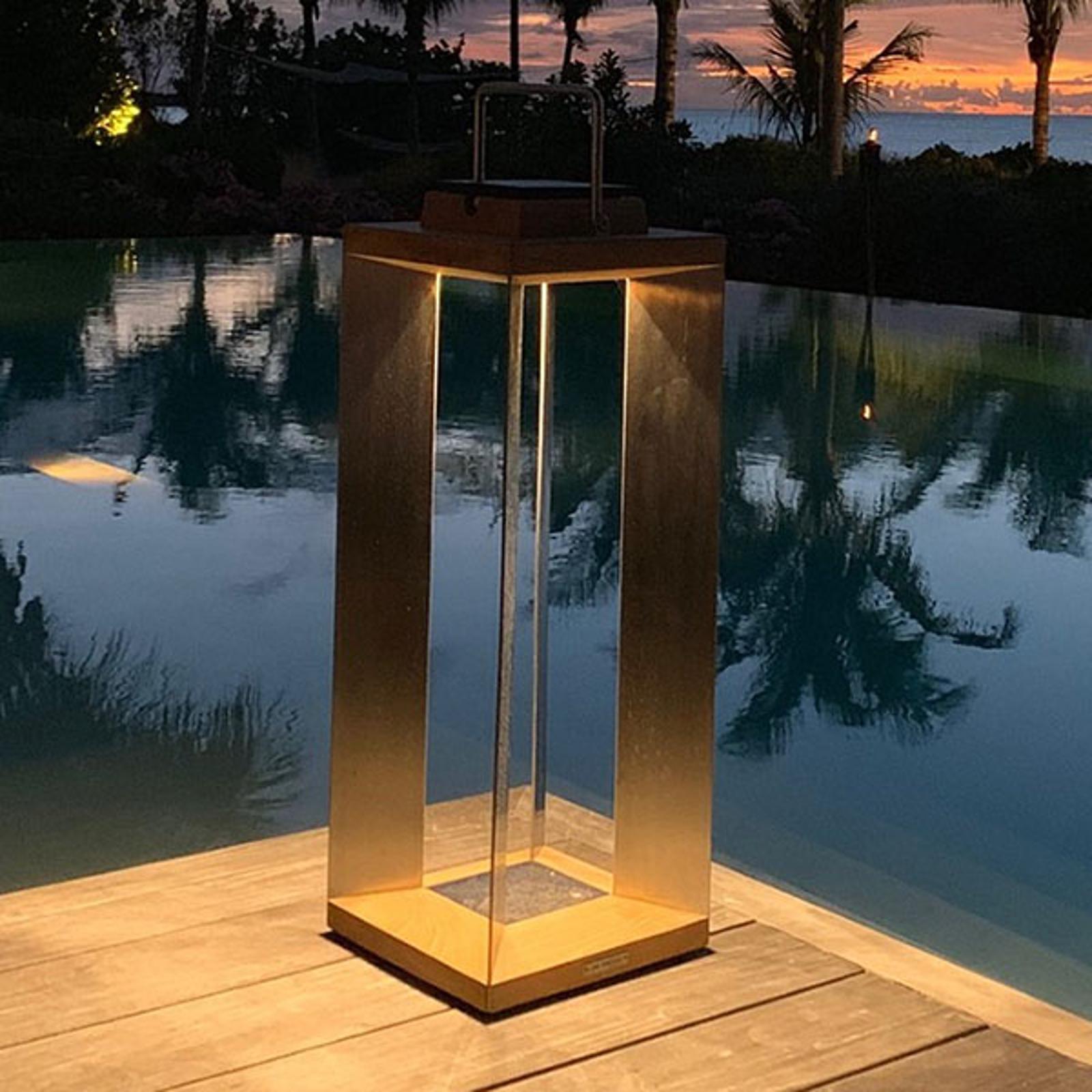 Aurinkokäyttöinen LED-lyhty Teckinox, 65,5 cm