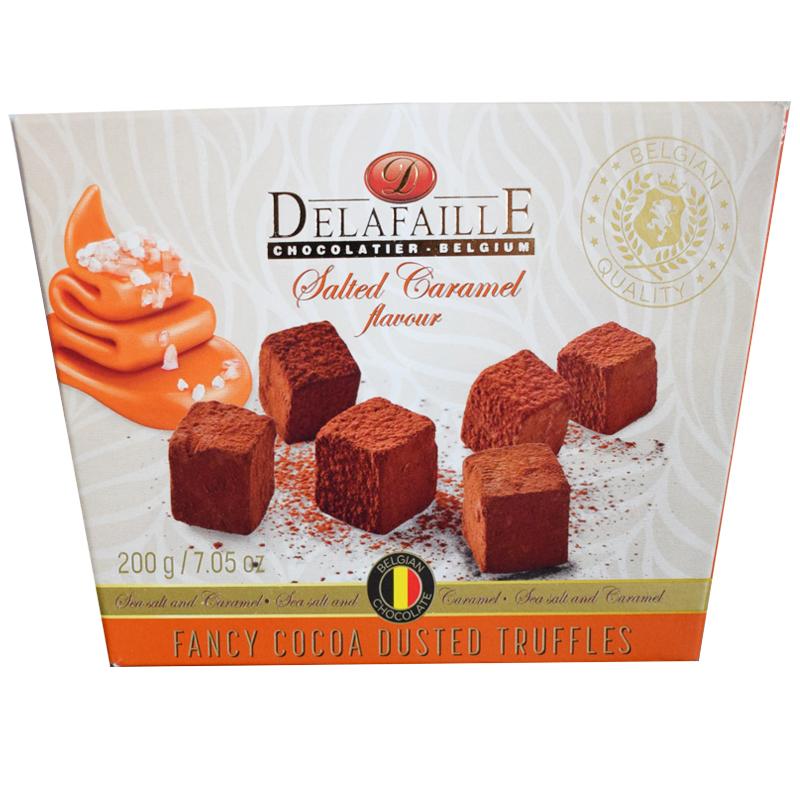 Delafaille Salted Caramel Chokladtryffel - 34% rabatt