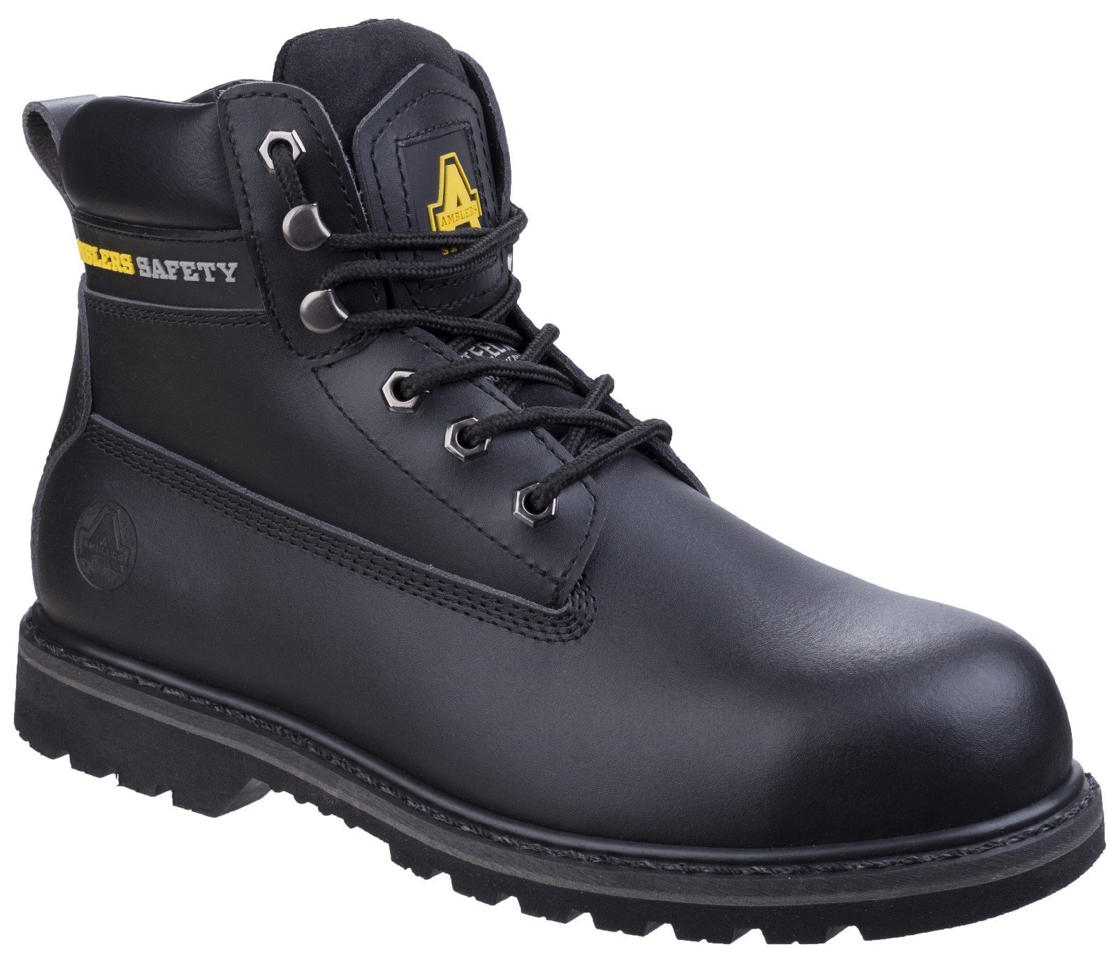 Amblers Unisex Safety Goodyear Welted Boot Black 01049 - Black 4
