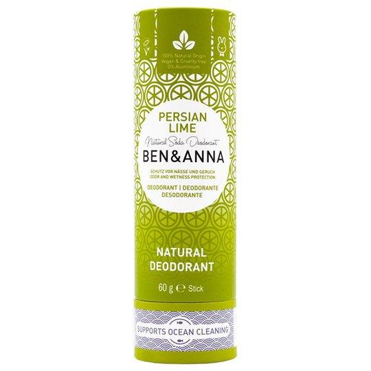 Ben & Anna Natural Soda Deo Stick Persian Lime, 60 g