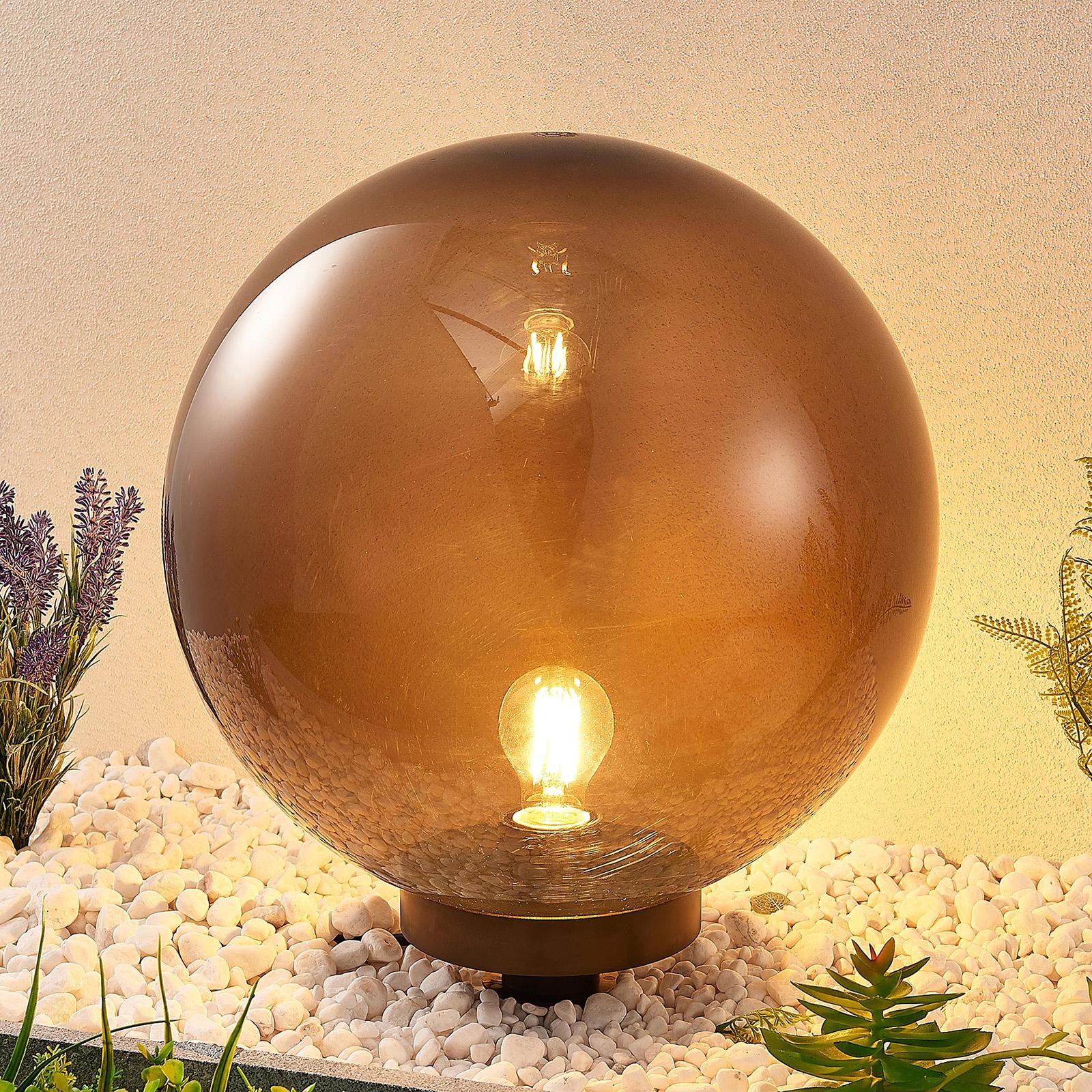 Lindby Samini -koristevalaisin, pallo, Ø 40 cm