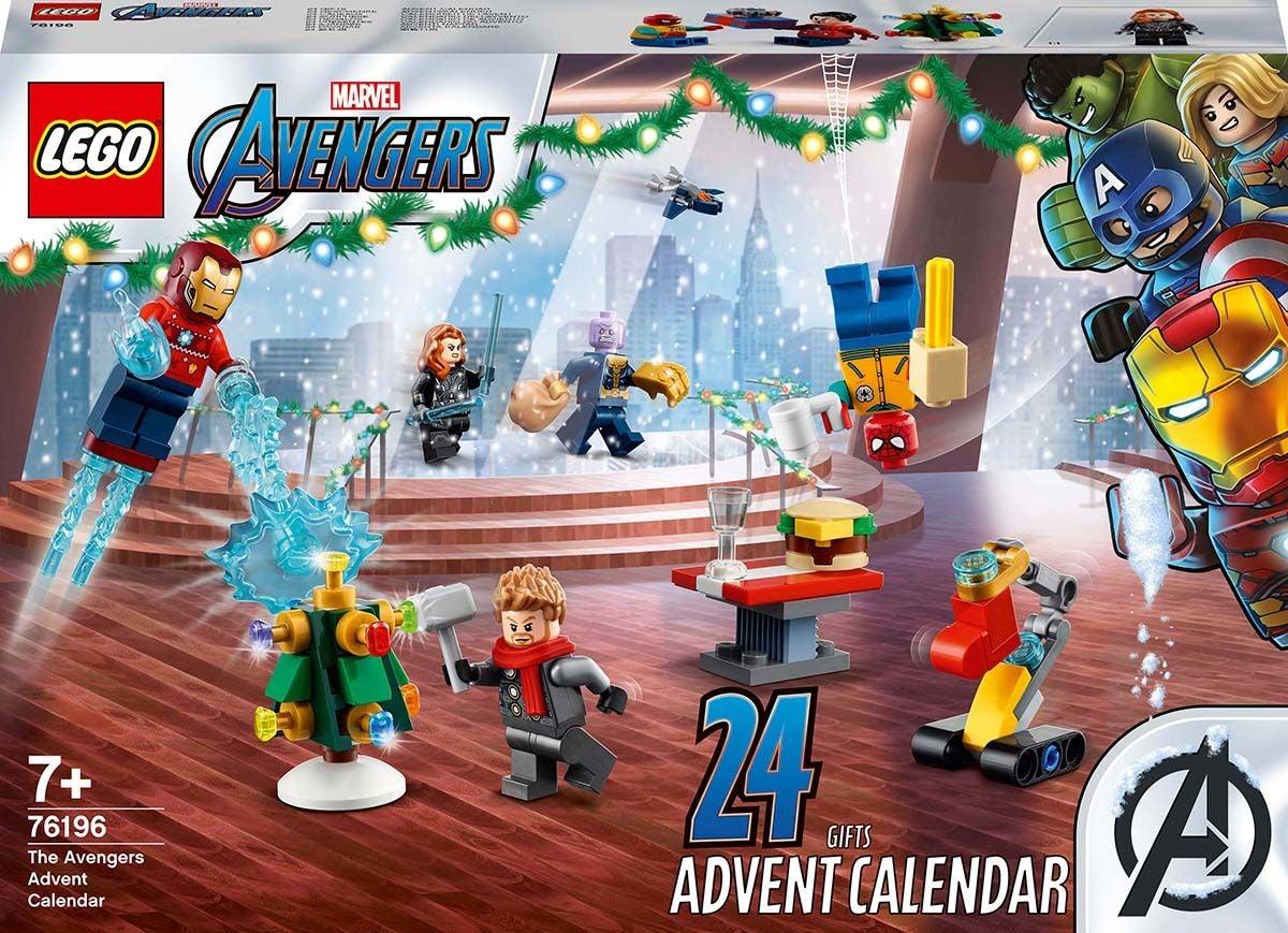 LEGO Super Heroes 76196 Joulukalenteri 2021