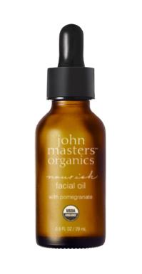 John Masters Organics - Nourish Facial Oil w. Pomegranate 29 ml